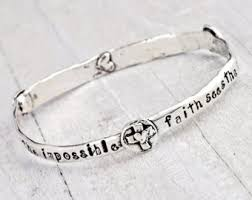 faith bracelets god has a plan bracelet personalized bracelet faith