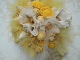 wedding bouquets with seashells seashell wedding bouquets the wedding specialiststhe wedding