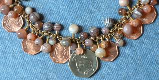 coin jewelry necklace images Cha ching coin jewelry JPG