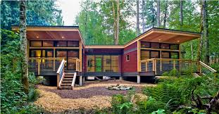 cabin plans modern modern prefab cabin minimalist for home office view at prefab