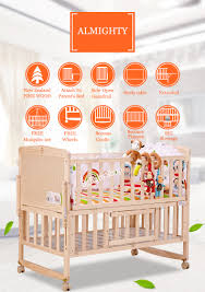 Baby Bed Attached To Parents Bed Sg Online Baby Shop Wooden Baby Cot