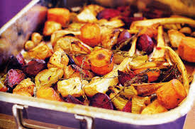 Roast Vegetable Recipe by Roasted Root Vegetables With Fennel Garlic U0026 Thyme