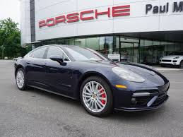 pre owned panamera porsche certified pre owned 2017 porsche panamera turbo hatchback in