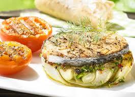 cuisiner le fenouil braisé saumon mariné au fenouil braisé colruyt