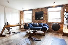 Living Room Design Brick Wall Exterior Design Enchanting Living Room Design With Faux Brick