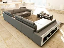 Grey Sectional Sofas Furnitures Grey Sectional Sofa Luxury Grey And White Leather