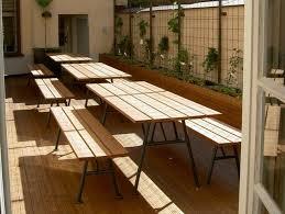 table pliante jardin table de jardin pliante pratique et économique en espace outdoors