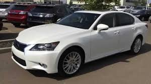 2013 lexus gs 350 new lexus certified pre owned white 2013 gs 350 awd technology plus