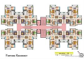 Cluster House Plans 2 Bedroom Apartment Flat For Rent In Vasu Fortune Residency Raj