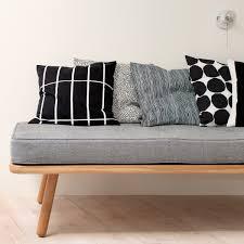 White Bedroom Throw Pillows Marimekko Tiiliskivi Black White Throw Pillow Marimekko Throw