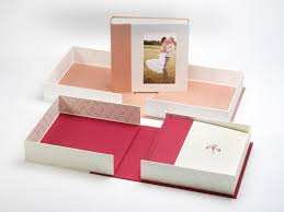 photo album box wedding albums