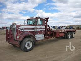 kenworth w900a kenworth winch oil field trucks in north dakota for sale used