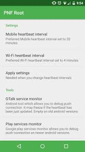 root debug apk root push notifications fixer apk for android