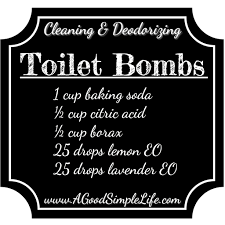 Acid For Bathroom Cleaning 3 Ingredient Toilet Bombs Clean U0026 Deodorize U2022 A Good Simple Life