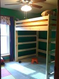 Make Loft Bed With Desk by Full Low Loft Bed Foter