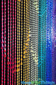 Beaded Curtains With Pictures Pride Beaded Curtains Rainbows Curtains Rainbow Raindrops