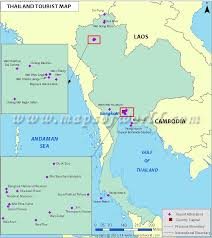 bangkok map tourist attractions thailand tourism thailand travel guide travel destinations in