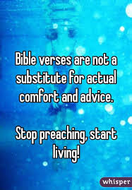 Comfort Verses Verses Are Not A Substitute For Actual Comfort And Advice Stop