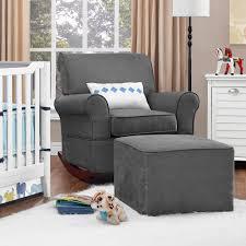 Gray Rocking Chair For Nursery Baby Relax Mackenzie Rocker Gray Walmart