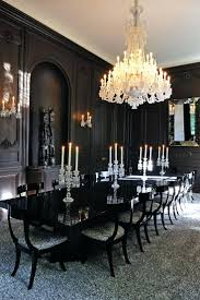 white formal dining room sets furniture ideas 21 black formal dining room black walls with white