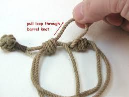 knot rope bracelet images Knots and fiber bracelets how to adjust the slip knot rope bracelet jpg