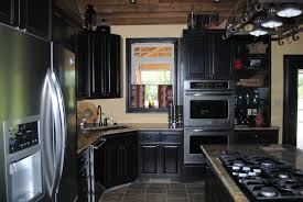 black cabinet kitchen ideas black kitchen cabinets small kitchen and photos