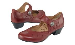 Comfortable Supportive Shoes Rachel Mary Jane Vintage Red Womens Comfortable Shoes Aetrex