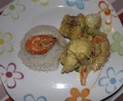 cuisiner la lotte marmiton lotte et crevettes au curry recette de lotte et crevettes au