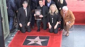 Hollywood Walk Of Fame Map Maroon 5 Singer Adam Levine Presented With Hollywood Walk Of Fame Star