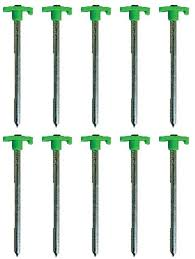 Rock Pegs For Awnings Supagarden Metal Rock Pegs Tents Awning Camping Canopy Hiking Ebay