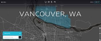 Map Of Vancouver Washington by As Uber Launches In Vancouver Wa Portland Is One Of Just Two