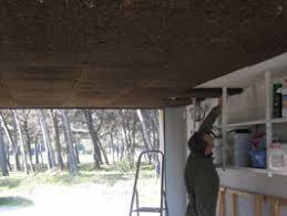 isolation plafond chambre isolation d un plafond de garage avec des plaques de liège expansé