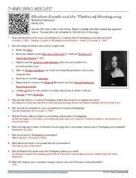 webquest lincoln s proclamation josepha hale