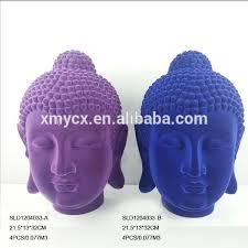 Decorative Buddha Head Indoor Home Decorative Flocked Buddha Head Statue Buy Decorative