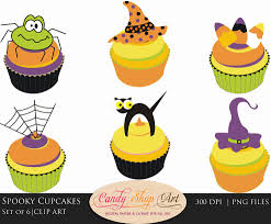 halloween clipart halloween clip art spooky cupcakes halloween