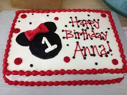 Red Minnie Mouse Cake Decorations Minnie Mouse Sheet Cake Jpg 3264 2448 Minnie Mouse Party