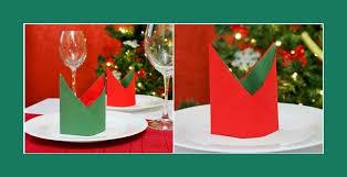 weihnachtsservietten falten weihnachtsdeko