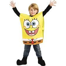 Boys Cheap Halloween Costumes Spongebob Child Halloween Costume Walmart