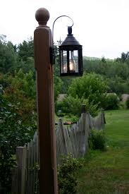solid cedar lamp post www barnhouselighting com flickr