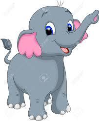 cute elephant cartoon royalty free cliparts vectors and stock