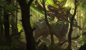 elderwood hecarim art of league of legends pinterest comic