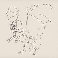 create zombie dragon concept art design and sketch