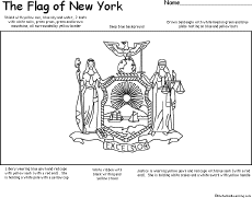 map of new york enchanted learning new york facts map and state symbols enchantedlearning