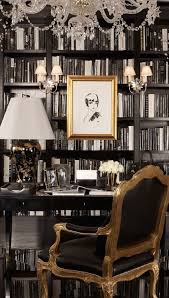 shades of black white and gray books make a statement wall for