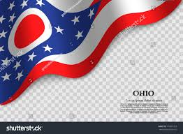 Ohios State Flag Waving Flag Ohio State Usa On Stock Vector 710367763 Shutterstock