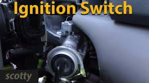 fixing a broken ignition switch youtube