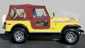 jeep classic 1976 jeep renegade cj7 levis edition renegade classic