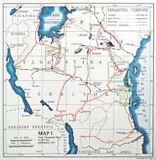 Lake Victoria Map Tanganyika Mandate