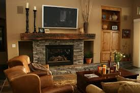Large Candle Holders For Fireplace by Living Room Tv Stand Beige Stained Wall Candleholders Brown