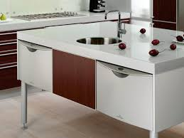 kitchen elegant modern mobile kitchen island pretty portable